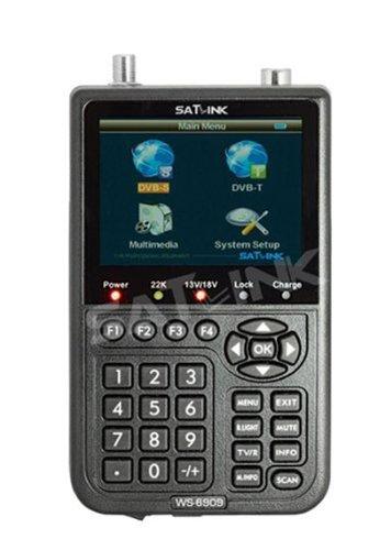 Satlink WS 6909 - Localizador para equipos por satélites, negro (importado)