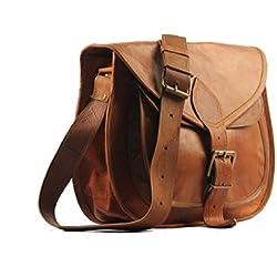 VH 23cm X 18cm Brown, bolso de las mujeres del cuero genuino / bolso / totalizador / monedero / bolso de compras