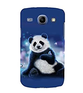 printtech Panda Butterfly Back Case Cover for Samsung Galaxy A5 / Samsung Galaxy A5 A500F