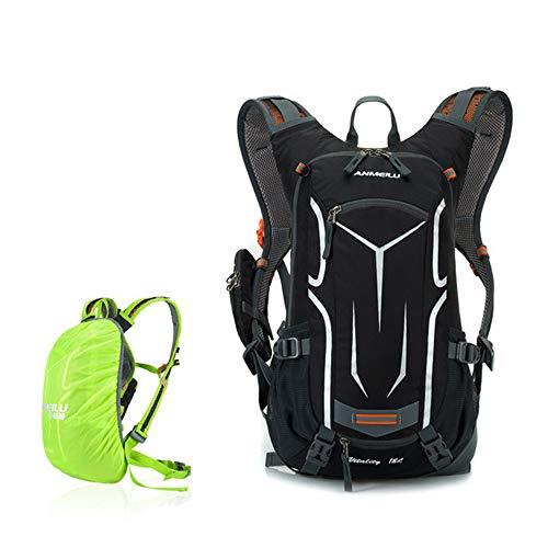 18L Radfahren Rucksack Herren Damen Klettern Rucksack Outdoor Sporttasche wasserdichte Camping Wandern Rucksack mit Regenschutz (Autositz Für Jogging-kinderwagen)