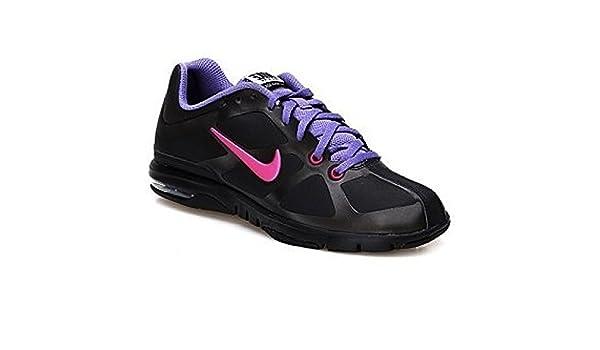 Nike, Damen Sneaker Schwarz SchwarzRosa 41:
