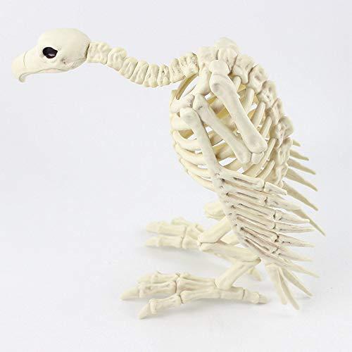 (Skelett Plastik Bewegliches Tier Skelettknochen Für Horror Halloween Bar Dekoration)