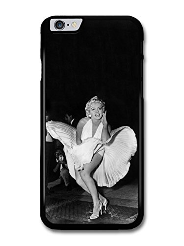 marilyn-monroe-on-subway-grate-glamour-photo-in-cool-fashion-black-and-white-style-coque-pour-iphone