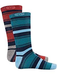 Animal Herren Socken Patrice 2 Pack Socks, CL5WG214-023O/S-