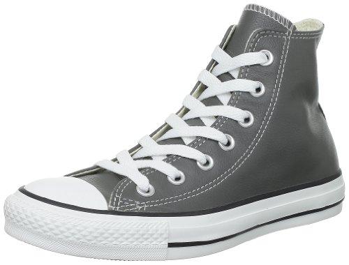 Converse Chuck Taylor Core Lea Hi, Unisex - Erwachsene Sneaker Anthrazit