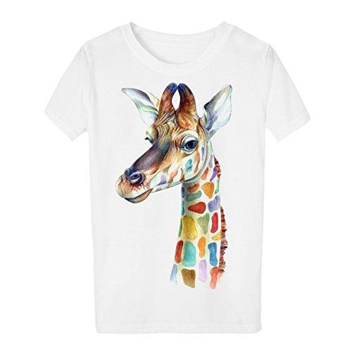 iBaste Übergröße Shirt Damen Kurzarm Bluse T-Shirt mit Aufdruck damen Oberteil Tops (L-4XL) BWT
