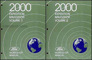 2000-ford-expedition-and-lincoln-navigator-repair-shop-manual-original-set