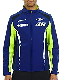 Veste Valentino Rossi Yamaha Racing Line Softshell Bleu