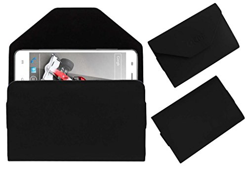 Acm Premium Pouch Case For Xolo Q3000 Flip Flap Cover Holder Black  available at amazon for Rs.329