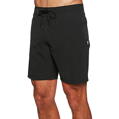 Hurley Herren M Phantom ONE und ONLY 18' Shorts, Black, 34 (Hurley Herren Phantom Boardshorts)
