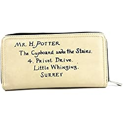 Harry Potter Lettera di unità Crema portafoglio