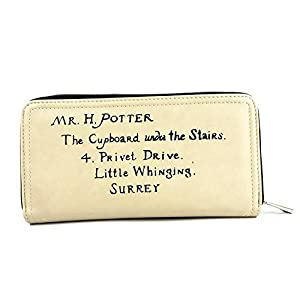 Cartera de Harry Potter Letter Crema