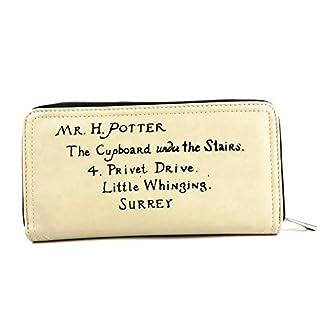 Cartera de Harry Potter Letter Crema