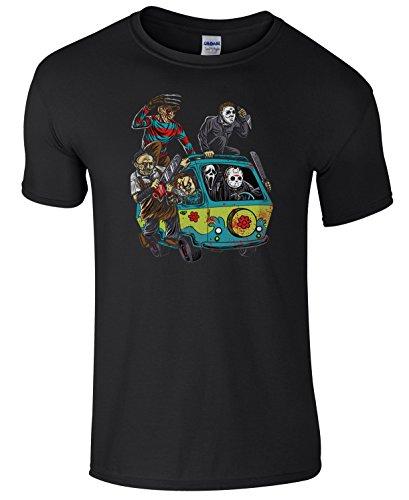 Mystery Machine Horror Characters Men's T-Shirt