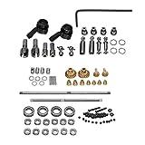 Morza OP Metal Kit de Montaje de Pieza de Recambio para el 1/16 WPL B14 B24 B26 C14 C24 RC Car Repuesto
