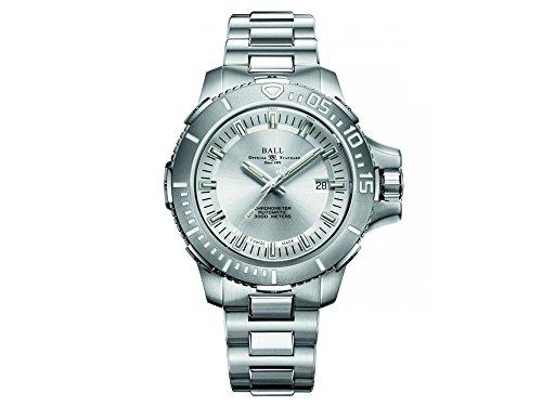 Ball Engineer Hydrocarbon DeepQUEST Watch, Polished titanium, DM3000A-SCJ-SL