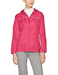 Geographical Norway Cassandra Lady 044, Chaqueta Impermeable para Mujer, Rosa (Flashy Pink), Large