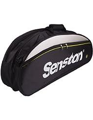 Senston sacs de raquette de badminton, sac à bandoulière de la raquette, sac 6 de la raquette, eau et la poussière.