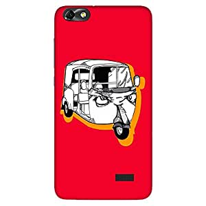 Bhishoom Designer Printed Back Case Cover for Huawei Honor 4C :: Huawei G Play Mini (Auto Ricksaw :: Vehicle :: Illustration :: Graphic :: Auto)