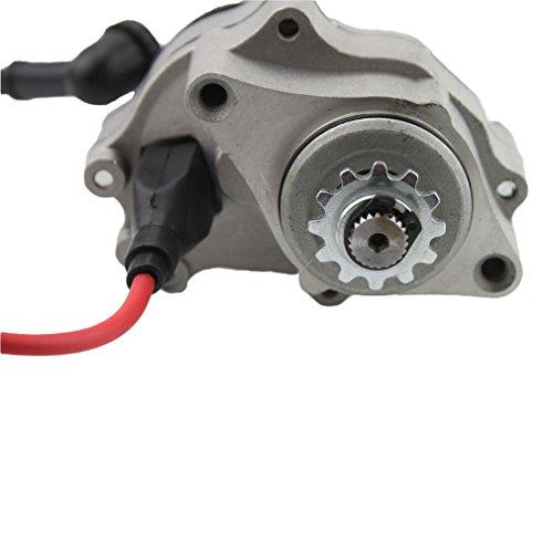 GOOFIT Elektrisch Starter Anlasser Motor(unterliegend) für 50cc 70cc 90cc 110cc 125cc Under Hotizontal Engine ATVs Dirt Bikes Go Karts
