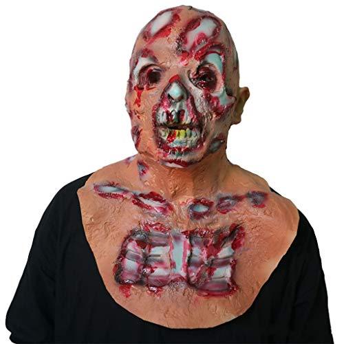 Máscaras de la Cabeza de látex, Resident Evil Halloween Horror Diablo Fantasma Zombi Disfraz Demonio temible Sangriento