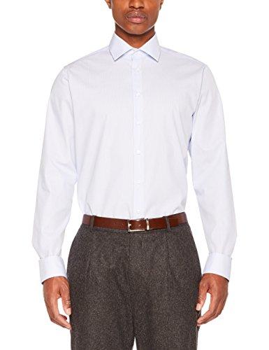 Seidensticker Herren Businesshemd 246670, Mehrfarbig (Hellblau 11), 41
