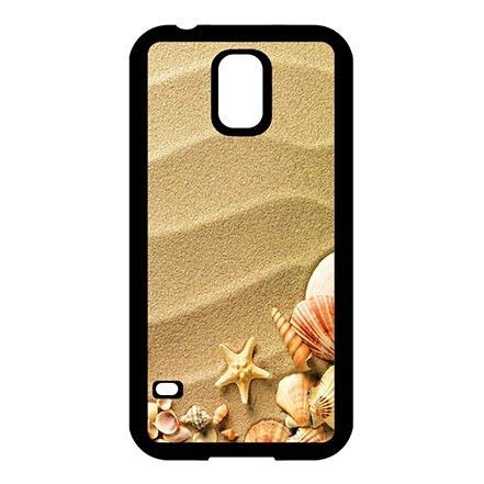 Clear Pattern Custom Beach Theme Samsung Galaxy S5 I9600 Rugged Plastic Cover Case, Dust Proof Lightweight Cases for Samsung S5