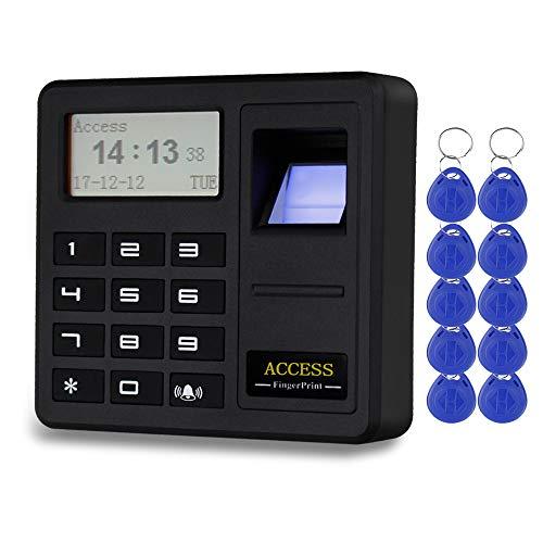 HFeng Sistema control acceso huella digital Teclado