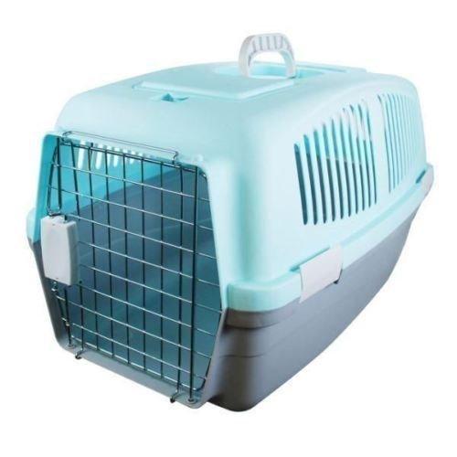 Preisvergleich Produktbild Generic.. pet Hund groß Kunststoff Pet E PLA Kaninchen Tragekorb Carr Travel Rier Hund Katze CR Box Tragegriff Tür..