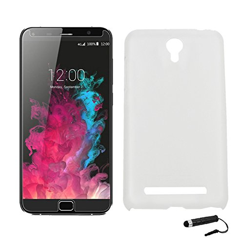 Owbb Hülle für UMI Touch Smartphone Handyhülle Ultradünne PC Kunststoff-Hard Case mit Backcover Design Hochwertige Anti-Wrestling Function Transparent