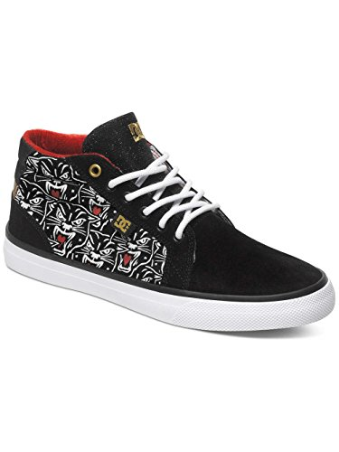 DC Shoes, Sneaker donna Nero (Black Print)
