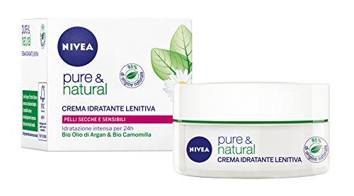 Nivea Visage Pure & Natural Crema 50Ml