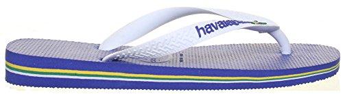 Havaianas Tongs Brasil Lg Unisexe Rose Bleu - bleu