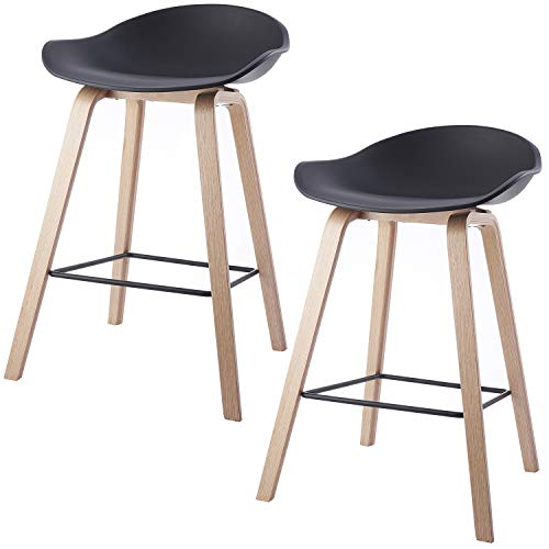 Kreativ 2er Set Barhocker Küchenhocker Barstuhl Tresenhocker Loungesessel Stuhl Möbel & Wohnen Star Barhocker & Stehtische