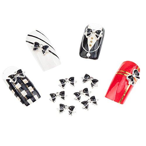 10-3d-strass-schleifen-manikure-nail-art-dekorationen-schwarz-weiss-von-cheekyr