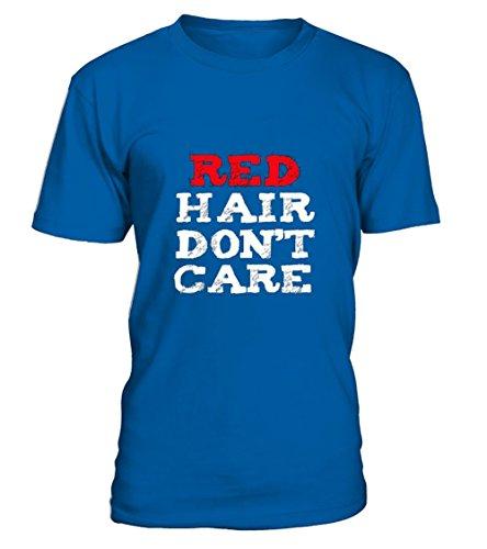 teezily Redhead T-Shirt Funny Cute Red Hair Don' T-Shirt Unisex