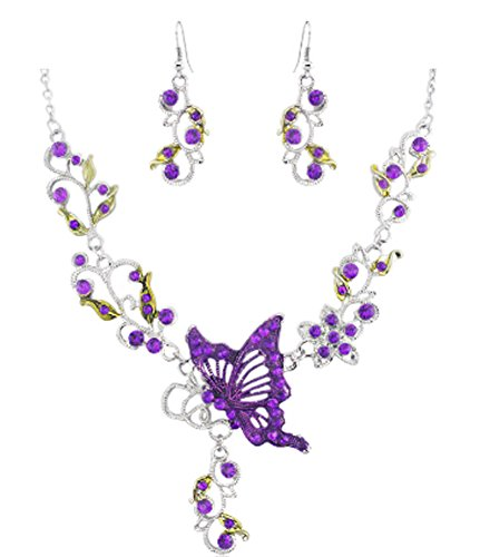 saysure-hollow-out-butterfly-flower-rhinestone-earring-bib
