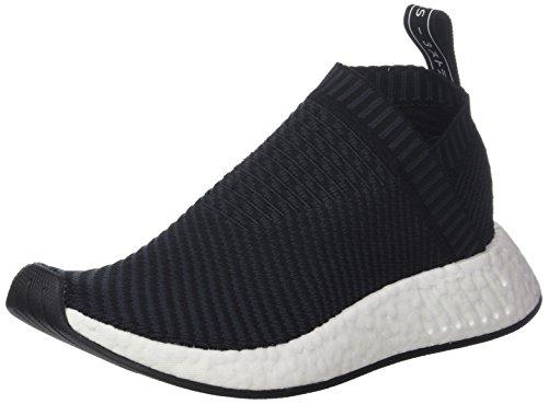 adidas Herren NMD_CS2 Primeknit Fitnessschuhe Schwarz (Negbas/Carbon/Rojsld 000) 42 EU