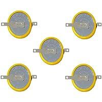 Eunicell 5x F2de CMOS Batería/Battery BIOS BR/CR2032–1F2con Soldadura 3V para PC V
