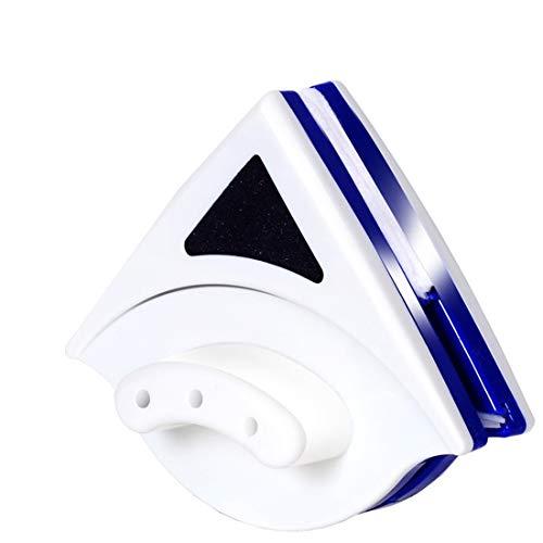 Gmjay Doppelseitiger Magnetischer Glaswischer Geeignet Für Wohnzimmer/Küche/Bad/Fenster/Spiegelfläche,Blue