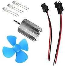 Baoblaze Kits de Sistema de Mini Generador de Turbinas de Viento Micro de Motor de Generador
