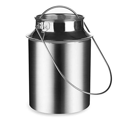 kaese-selber.de Milchkanne 6,0 Liter (Edelstahl)