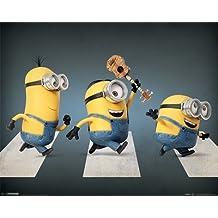 Póster Minions - Abbey Road - cartel económico, póster XXL