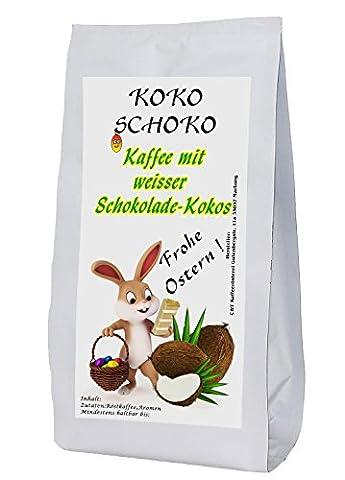 aromatisierter Kaffee mit Koko Schoko als Gemahlen