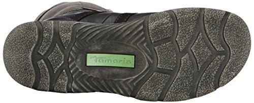Tamaris 1-1-26209-23, Stivali Donna Nero (Schwarz (BLACK/GRAPHITE 88))