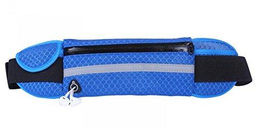 lifenewbaby Running Gürtel Waistpack Gürteltasche-Fanny Pack Handy Gürteltasche Tasche für Gym Outdoor Sport Blau