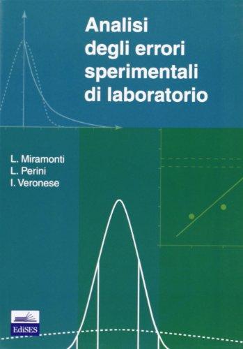 Analisi degli errori sperimentali di laboratorio