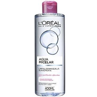 L'Oreal Paris Agua Micelar para Pieles Sensibles, Normales a Secas de L'Oréal Paris