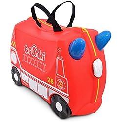 Trunki Frank - Maleta camion bomberos nuevo