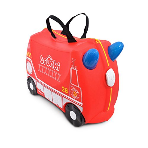 TRUNKI Bagage enfant, rouge (Rouge) - 0254-GB01